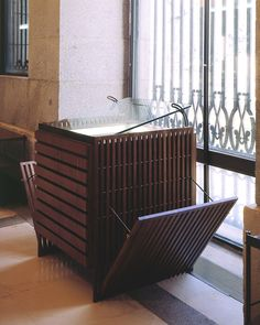 Mobiliario para el Museo del Prado. Madrid | allende arquitectos 1988