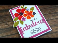 hello - welcome back to my channel! Today, I am playing with the newest My Favorite Things card kit, called Flashy Florals! Unfortunately, the kit is sold ou...