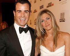 Justin Theroux & Jennifer Aniston Gala Honoring Ben Stiller 2012