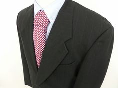Giorgio Armani Mani Men's Two Button Striped Blazer SportCoat Wool sz 42 L #Mani #TwoButton