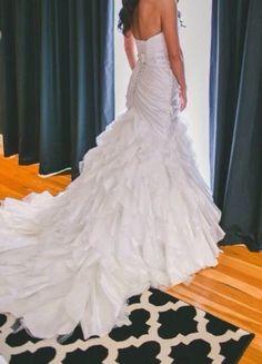 STUNNING Maggie Sottero Sloan Wedding Gown Designer Dress