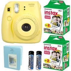Fujifilm Instax Mini 8 Instant Film Camera (Yellow) + 2 F... https://www.amazon.com/dp/B0184ZM2Q2/ref=cm_sw_r_pi_dp_lxiFxbWAN342Z