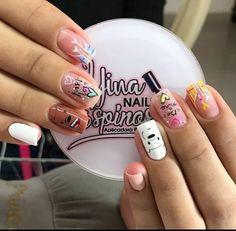 Nail Spa, Pedicure, Acrylic Nails, Nail Designs, Hair Beauty, Pretty, Snails, Elegant Nails, Work Nails