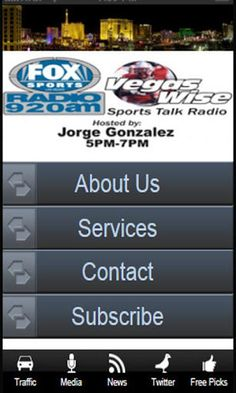Download my app and call me for FREE Pics!!!<br>Welcome to VegasWise.com! We are proud to bring you winning NFL picks, and NCAA Football picks in addition to free sports betting odds, online sportsbooks, free nba predictions, basketball tips and news, handicapping articles, nba basketball scores, and so much more!<p>Jorge Gonzalez is one of the most respected handicappers in the industry. A documented champion in both college football and the NBA, Jorge excels down the stretch and into the…