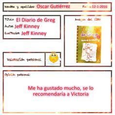Óscar nos recomienda uno de los libros más populares de los últimos tiempos, Greg.
