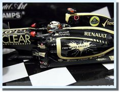 Kimi Raikkonen F1 Minichamps 143 Alone Leave me Lotus Car Formula 1 JAPAN Rare