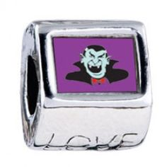 Dracula Photo Love Charms  Fit pandora,trollbeads,chamilia,biagi,soufeel and any customized bracelet/necklaces. #Jewelry #Fashion #Silver# handcraft #DIY #Accessory
