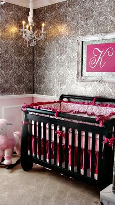 Another cute baby nursery!