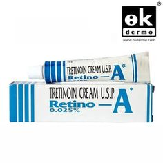 Retino-A 0.025% (made by Jannsen, Johnson&Johnson) is created to treat acne, also flawlessly used to reduce and gradually remove the appearance of wrinkles & age spots, the roughness of facial skin while also facilitating the disappearance of darker and lighter spots. Tretinoin must be used with a total skin care and sunlight avoidance program. It is one of a family of gels called Retinoids, and is effective in preventing pimples and healing existing pimples.