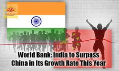According to the World Bank's growth chart of major economies, India is expected to grow at a rate of 7.5% and is expected to surpass China. For the first time, India is leading the World Bank's growth chart of major economies. Know more about it.