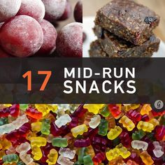 Mid run snacks to improve your marathon