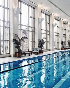 The Peninsula Chicago—One of the most beautiful luxury hotels in the Windy City, The Peninsula also happens to be one of the most convenient; it's only a 3-minute walk to the Museum of Contemporary Art and another 15 to Lollapalooza locale Grant Park. We recommend taking a dip in the stunning lap pool, à la Jenny Cipoletti.