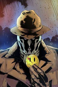 Rorschach Art, Watchmen Rorschach, Arte Dc Comics, Watchmen Tv Show, Watchmen Hbo, Comic Books Art, Comic Art, Univers Dc, Western Comics