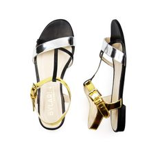 Discover our INDIAN MIRROR sandals at bylarin.com Price: 85€