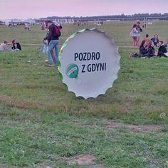 Tymbark na festiwalu Heineken Open'er 2013.