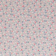Fabric Tilda Stine Greygreen