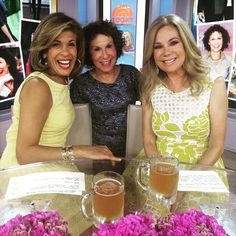 Kathie Lee Gifford looking lovely on #KLGandHoda in our Floral Fit and Flare Dress | DRESSBAR