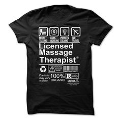 Nice Tshirt (Tshirt Awesome Produce) Hot Seller - LICENSED MASSAGE THERAPIST -  Discount 15%