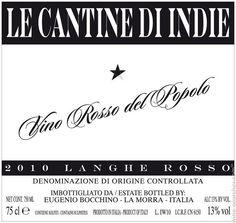 Bocchino Vino Rosso del Popolo - $14.99