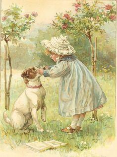 Античный викторианской 1897 Эрнест Нистер по printsandpastimes на Etsy