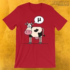 8df24da1cc Funny Science Jokes, Cartoon Cow, Greek Language, Mathematics, Hand Drawn,  Physics, How To Draw Hands, Tee Shirts, Fans