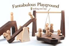 Looking forward to ordering one of these when my little girl gets a wee bit olde. Wooden Playground Sets, Backyard Playground, Wood Toys, My Little Girl, Christmas Birthday, Classic Toys, Toddler Toys, Natural Wood, Blog