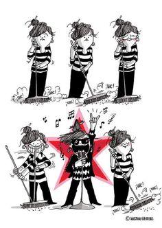Zo typisch: strip schetst hoe het is om een vrouw te zijn - HLN.be
