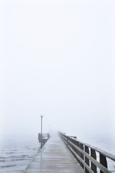 Winter in the west coast.  Sweden Foggy Saturday