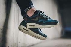Nike - NIKELAB Air Max 1 Pinnacle (dunkelgrün / blau) - 859554-300