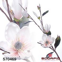 цветок магнолии персиковый - SCORPIO - Магазин подарков, декора, иллюминации