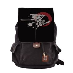 CosEnter Anime Touhou Project Logo Backpack Student Bag Cosplay ** Click image for more details.