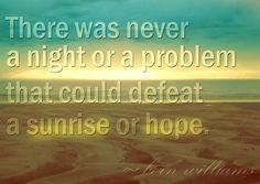 Hope quote via www.CloudNineGirl.com