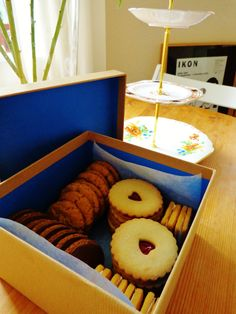 My first commissioned box of biscuits :-)