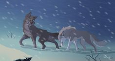 Snow storm by hecatehell.deviantart.com on @DeviantArt