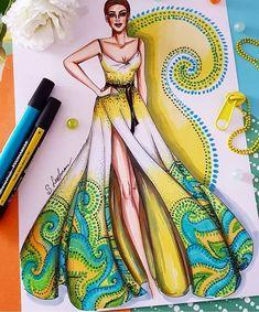Este posibil ca imaginea să conţină: 2 persoane Dress Design Drawing, Dress Design Sketches, Fashion Design Sketchbook, Fashion Design Drawings, Fashion Sketches, Fashion Drawing Dresses, Fashion Illustration Dresses, Dress Illustration, Fashion Figures