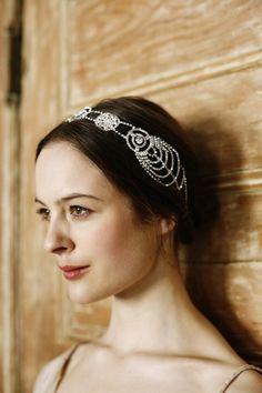 jennifer behr hair accessories // roaring twenties #weddinginspiration