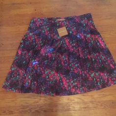 Ellen Tracy beautiful Skirt💕💕 Multi color shirt-Jazz it Up Ellen Tracy Skirts