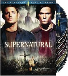 Supernatural: The Complete Fourth Season [6 Discs] DVD Region 1