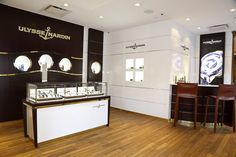 Ulysse Nardin new store New York city at Ritz Carlton