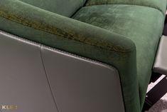 #kler #meblekler #klermeble #klerdesign #designkler #excellence #klerexcellence #wnętrza #Gondoliere #green #zieleń #zielonyakcent #złoto #gold #new  #sofa #salon #projektowanie #design #meble #dom #komfort #jakość #quality #wypoczynek #styl  #style #modern #relaks #relax #furniture #furnituredesign #interior #interiordesign #home  #dom #dodatki #dekoracje #homedecor #stolik #stolikkawowy #coffeetable Tub Chair, Teak, Accent Chairs, Dom, Green, Furniture, Home Decor, Design, Living Room