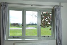 Maximising the view using our timber Cottage Casement. No millions and supper slim sections Casement Windows, Types Of Architecture, Timber, Windows, House, Open, Arched Window Treatments, Blinds For Windows, Traditional Design