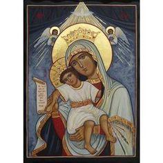 Icono de Nuestra Señora de los Ángeles