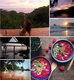 Yoga & Superfoods retreat in Nicaragua: get Breakfast Criminalized! Buena Vista Surf Club Yoga