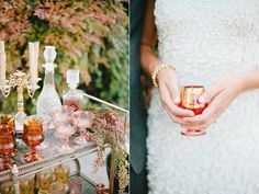 Garden Romance Wedding Inspiration / styled by Beijos Events / Photo by Megan Welker