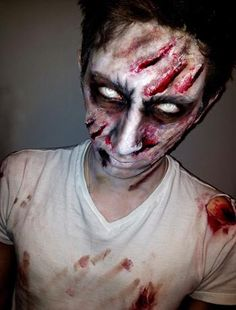 makeup halloween men - Buscar con Google