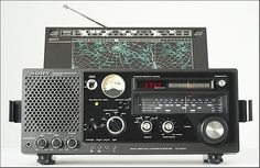 SONY ICF-6700 AM/FM Shortwave Radio Receiver