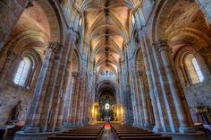 Interior St. Vincent's Basilica – Basílica de San Vicente, Ávila, HDR 2 by marcp_dmoz, via Flickr