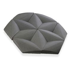 <p>Paragons Hex blends precision cutting and surface sculpting to create rhomboids with a tapering angled relief. The unique pieces are placed in a hexagonal layout to create a tile that interlocks, resulting in a seamless modern surface for walls.</p>