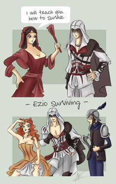 Assassin's Creed Mistress Logic… pfffffff hahahhahHahahahhahahah