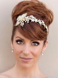 Acconciatura da sposa capelli corti matrimonio accessori